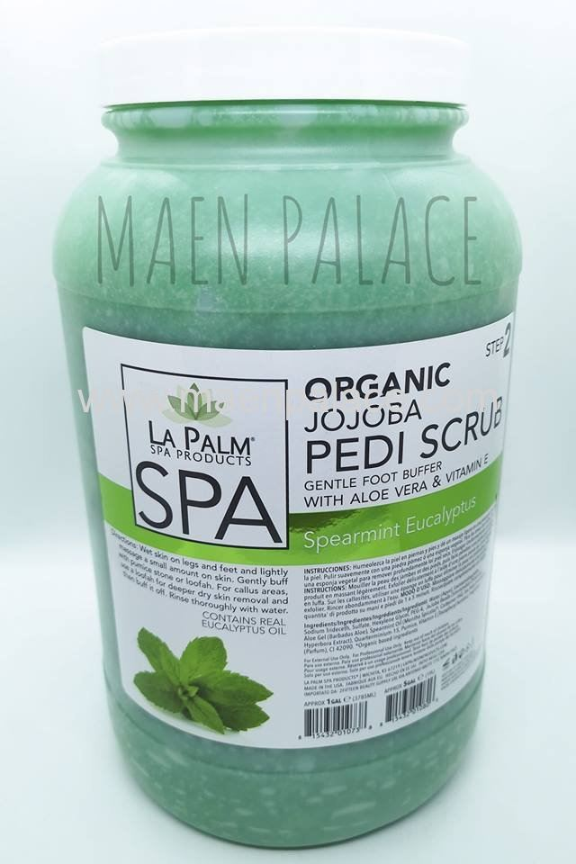 La Palm Pedi Scrub Spearmint Eucalyptus - 1 gallon