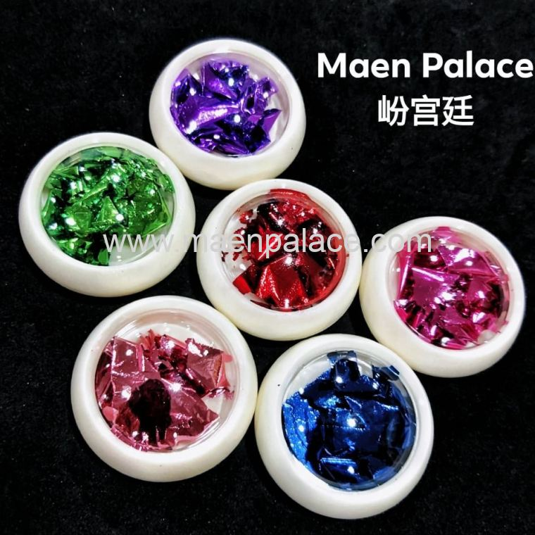 FOIL POWDER SET 彩色金箔套装