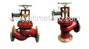 Marine DIN Flanged Cast Steel Quick-Closing Valve