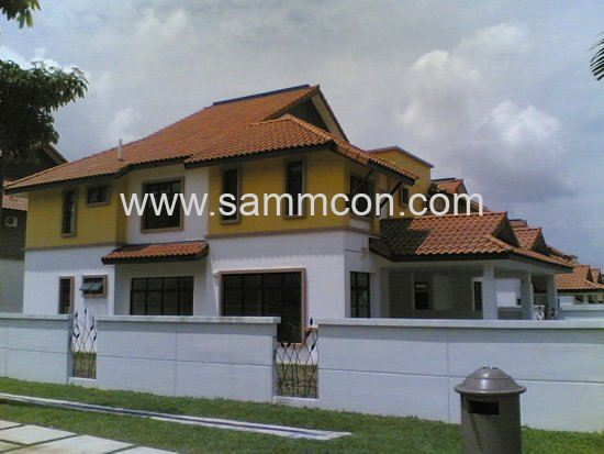Setia indah double storey and single storey house jb for Home design johor bahru