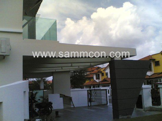 Setia indah double storey and single storey house jb for A d interior decoration contractor