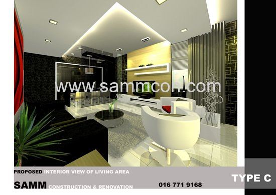 Living interior design jb interior design for Home design johor bahru