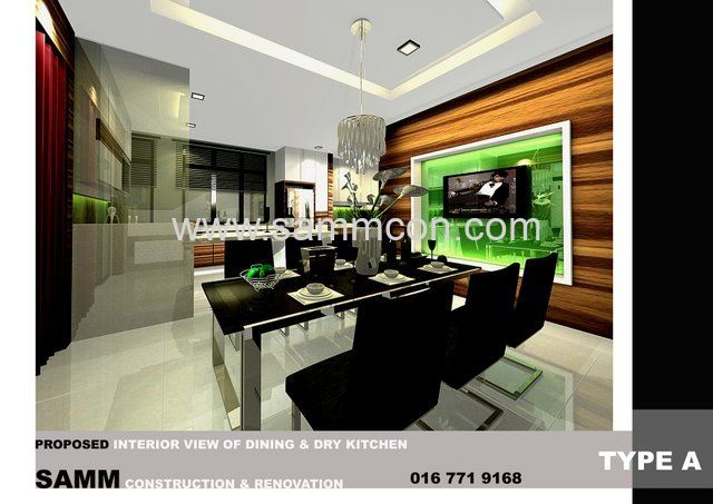 Design renovation setia indah interior design jb for A d interior decoration contractor
