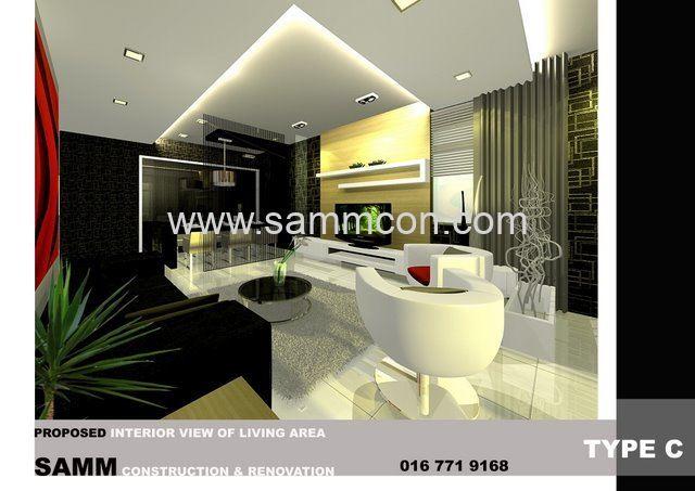 Interior design renovation interior for House interior design johor