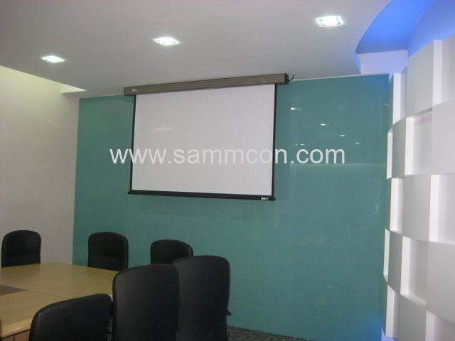 Design of Meeting room.Company meeting room design