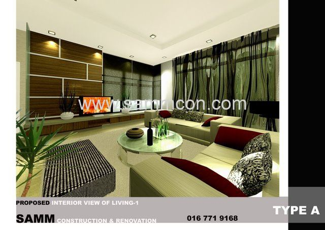 Rekabentuk rumah house jb interior design for House interior design johor