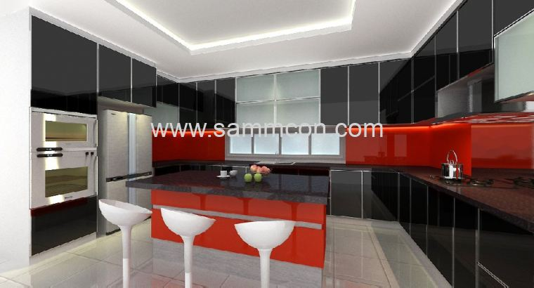 interior design . renovation . Taman Nong Chik . Taman Kolam