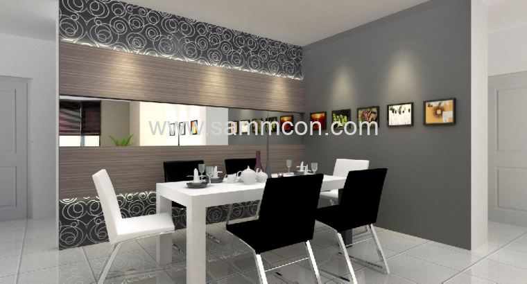 Interior design taman suria interior design johor for A d interior decoration contractor
