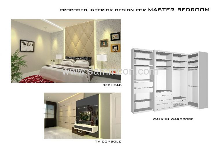 Interior design renovation permas jaya interior for A d interior decoration contractor