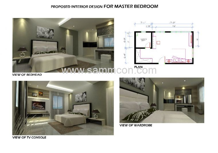 Laguna danga bay interior design renovation for A d interior decoration contractor