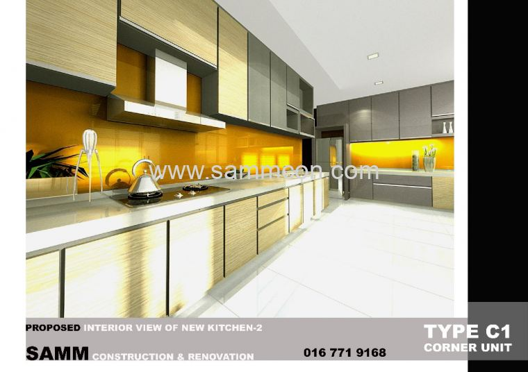 Taman Century . Renovation. interior design