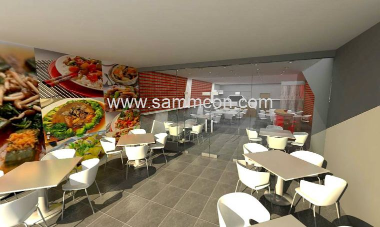 design of restaurant  . johor bahru . interior design of res