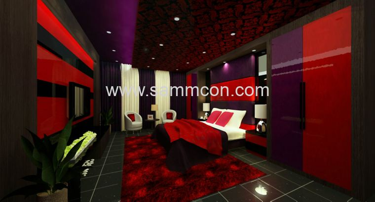 Pulai flora . master bedroom . design of master bedroom