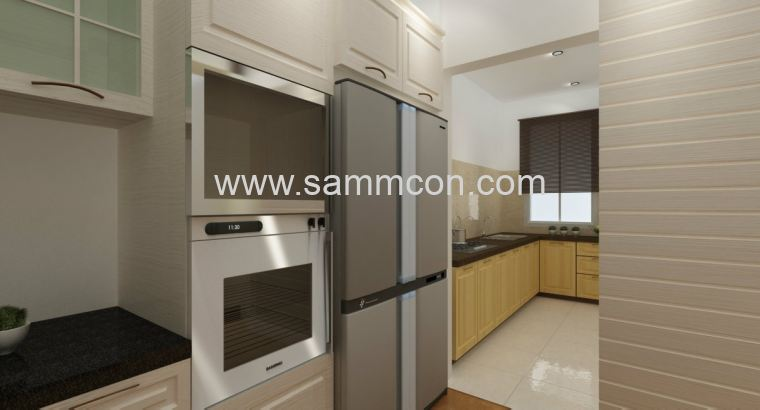 Apartment kitchen design interior design johor bahru for Home decor johor bahru