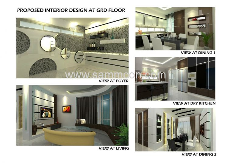 Design horizon hill the hills interior design and for Home design johor bahru