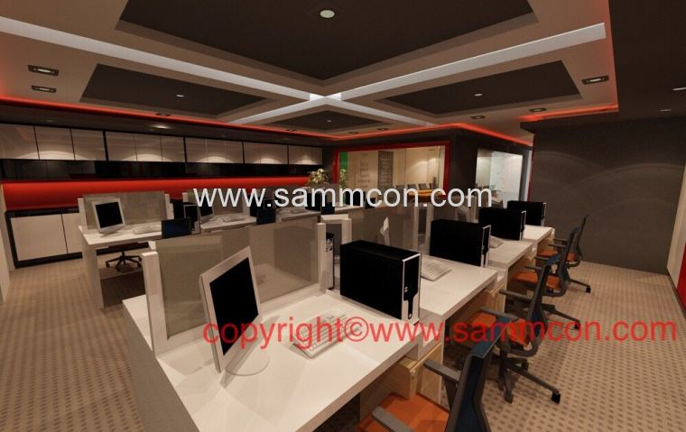 Office design works office renovation works johor bahru for Office design johor