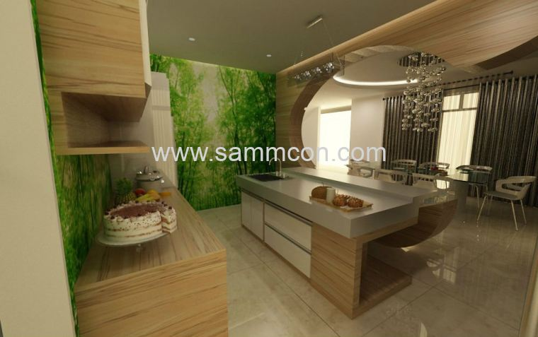 design and renovation works Nusa Jaya .