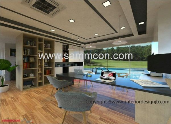 Interior Design Johor Bahru (JB) - Office decoration and ren