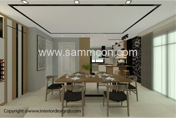 Interior Design Johor Bahru (JB) - decoration and renovation