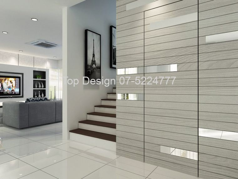 Staircase Feature Wall Design