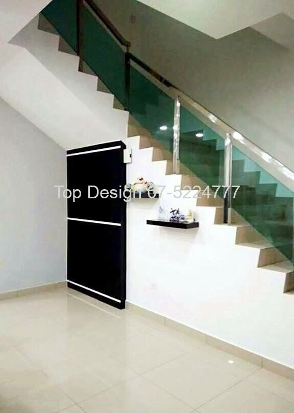 Staircase Design cum Store Room Design
