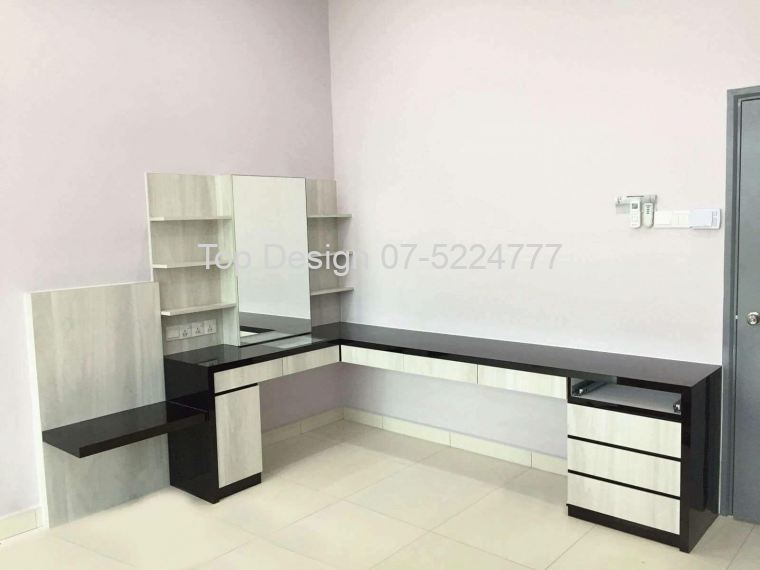Dressing Table cum Study Table Top Design