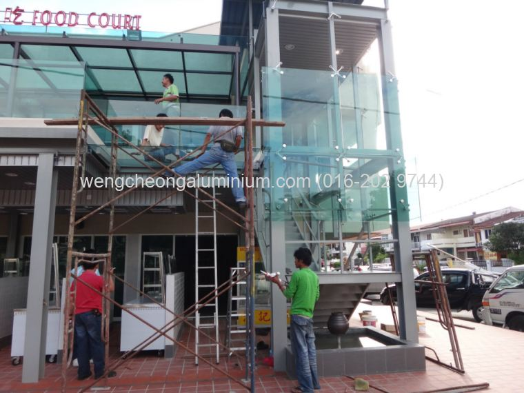 SS2- Tempered Glass/Skylight/Spider Glass/Balcony