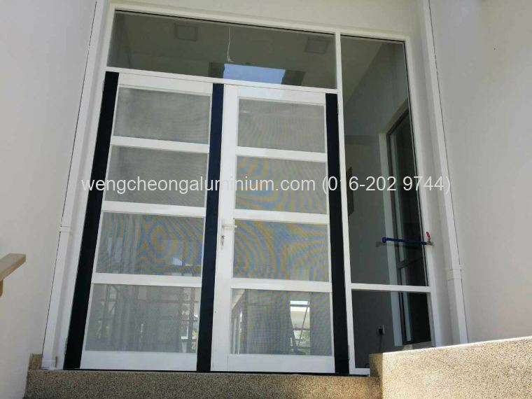 Aluminium Insert Screen & Fixed Panel