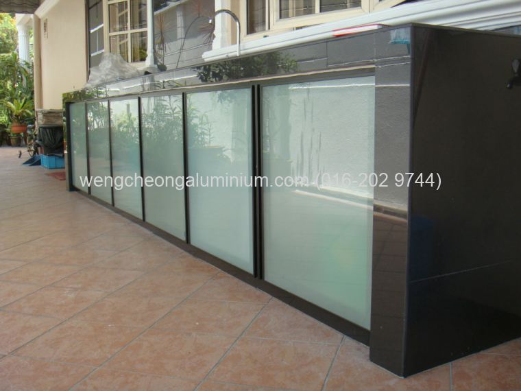 Kitchen Cabinet Door & Sandblasting Design