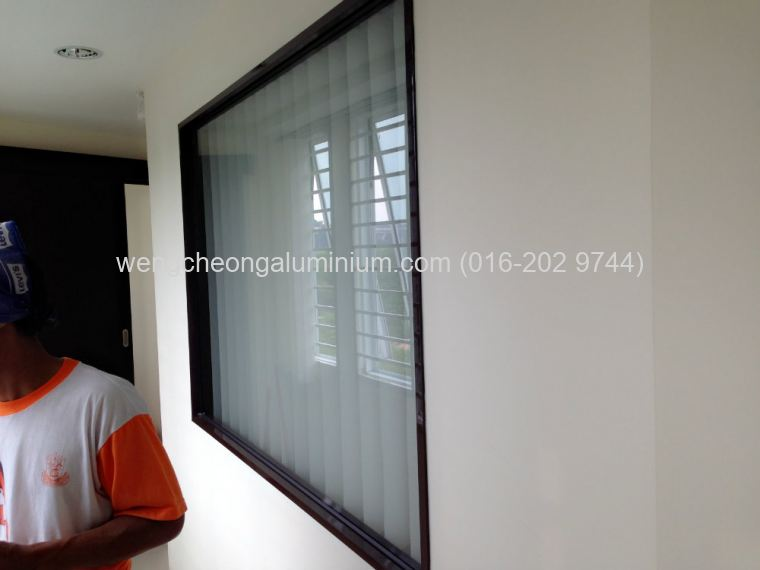 (OFFICE PARTITION) Fixed Panel Glass