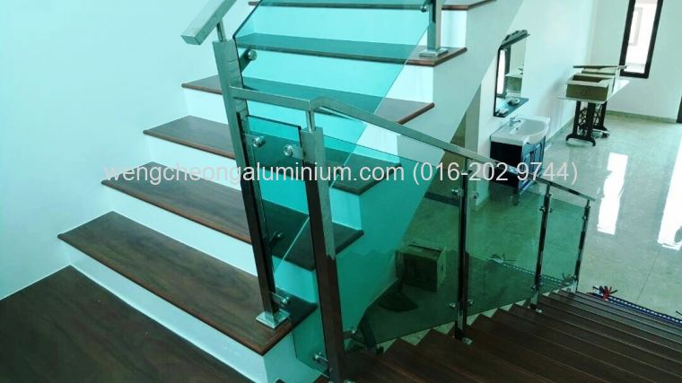 Staircase (Light Blue Glass)