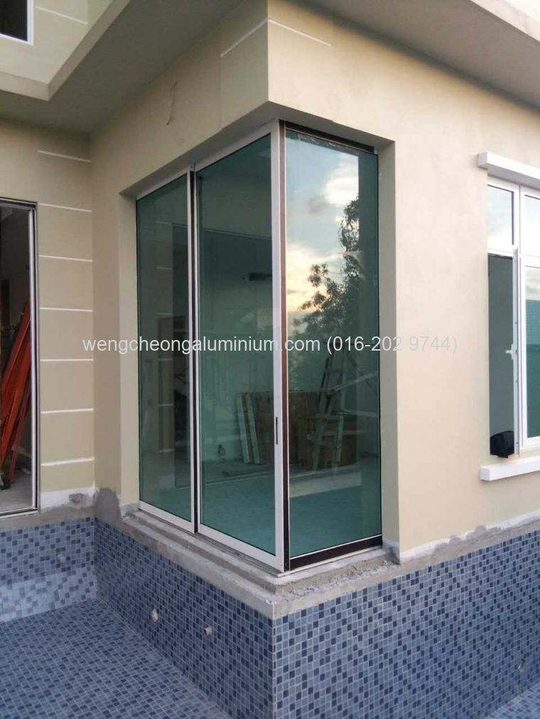 Aluminium Shopfront Fixed Panel