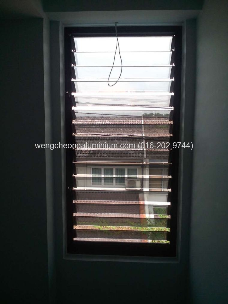 Aluminium Adjustable Louvres
