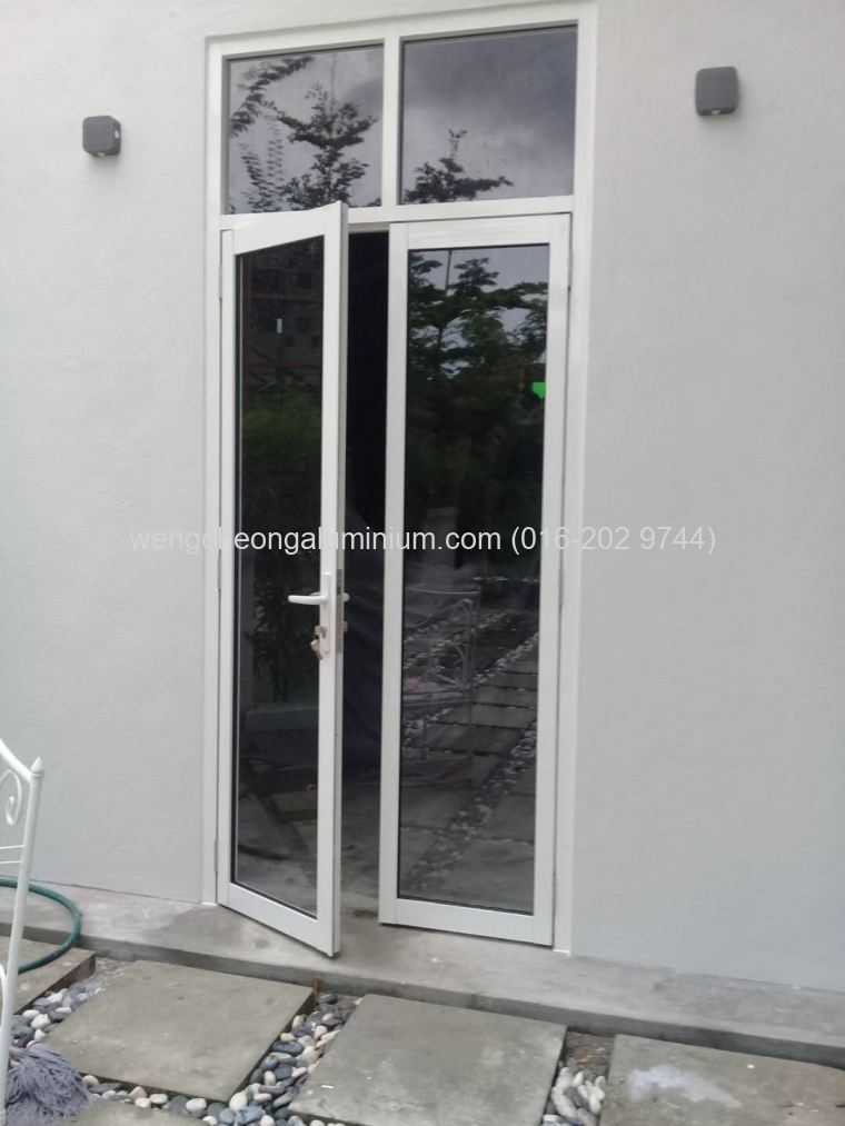 Aluminium Double Leaf Swing Door