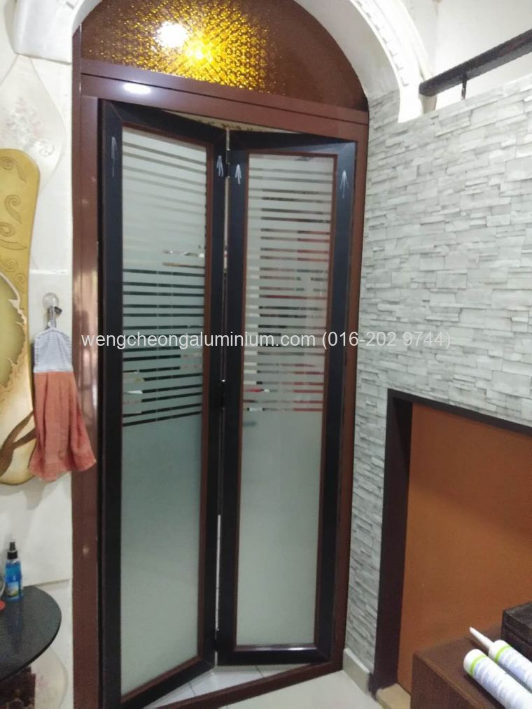 Folding Door (C3 Frosted)