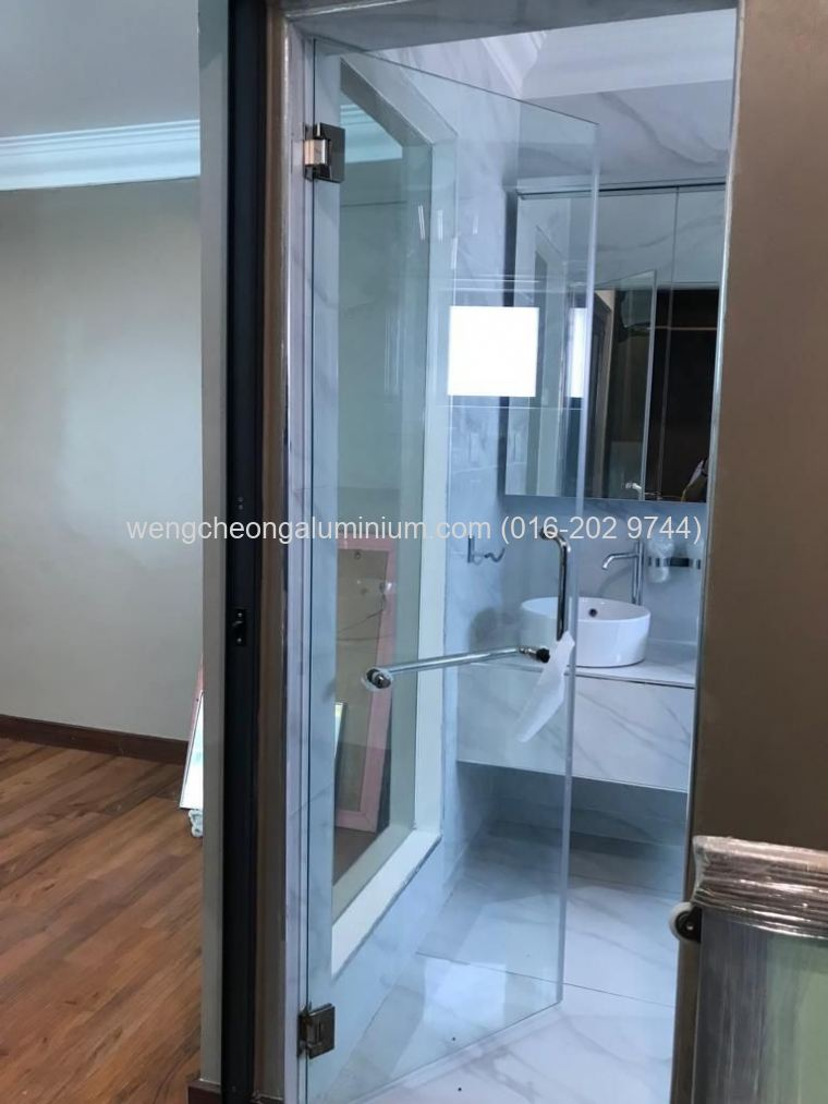 Shower Screen Glass Swing Door