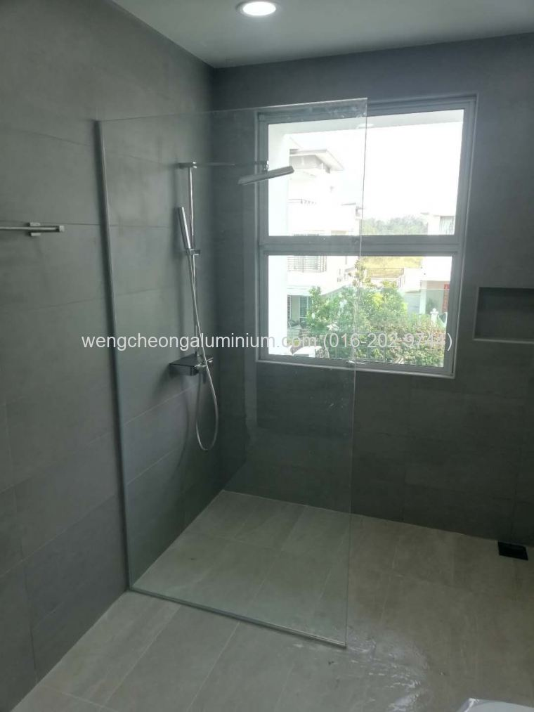 Shower Screen Fixed Glass