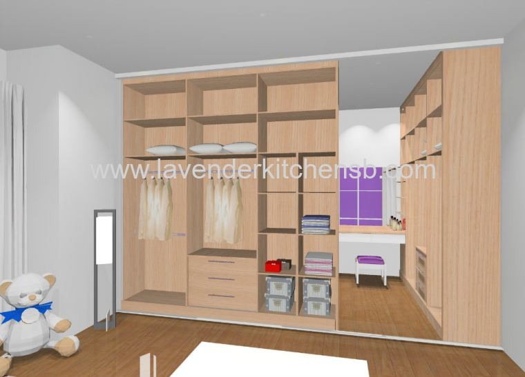 3D Drawing Wardrobe