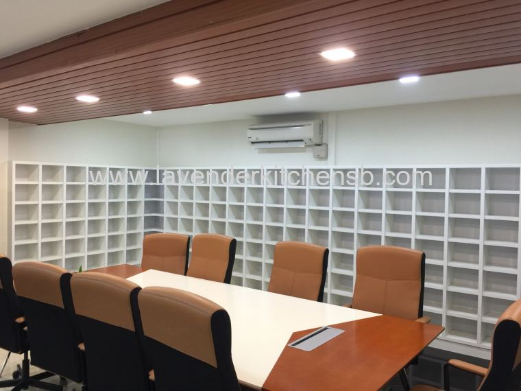 Meeting Room Display Rack & White Board