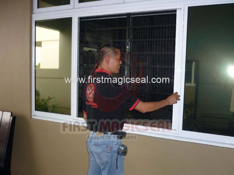 Folding Window Insect Screen