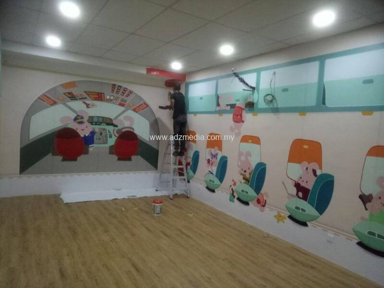 Wall Sticker Printing & Installation Job