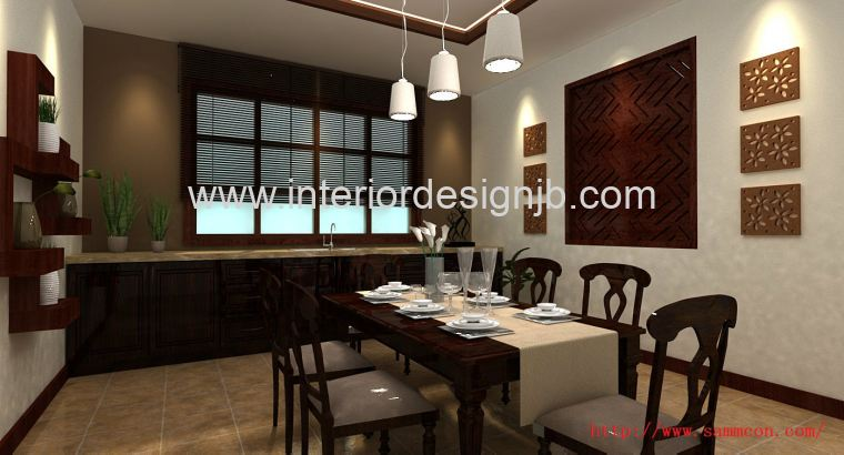 kitchen design at balinese style . Bali style design for the