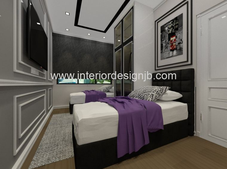 Bedroom Decoration Design,Taman Daya , Johor Bahru