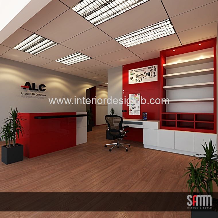 reception area design & renovation . Johor Bahru