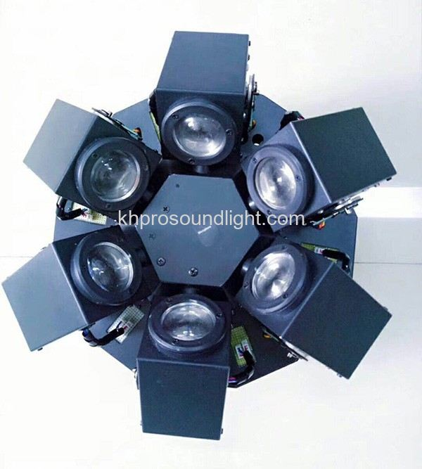 LED Effect 6 X 12W Moving