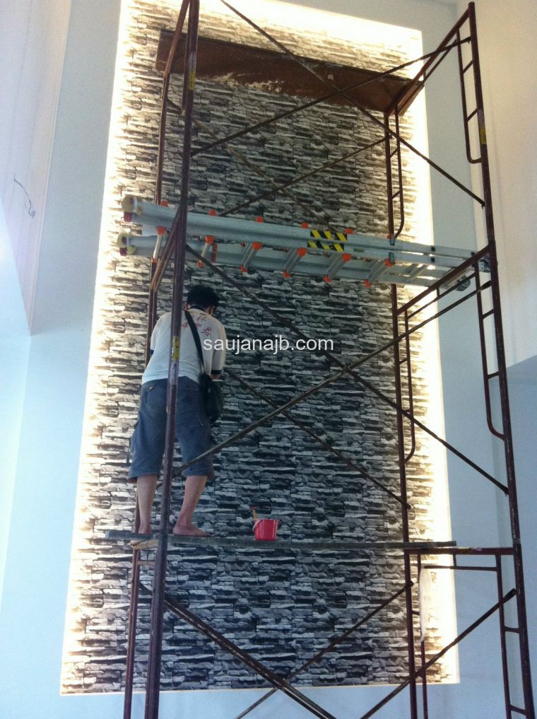 High Wall Installation 2