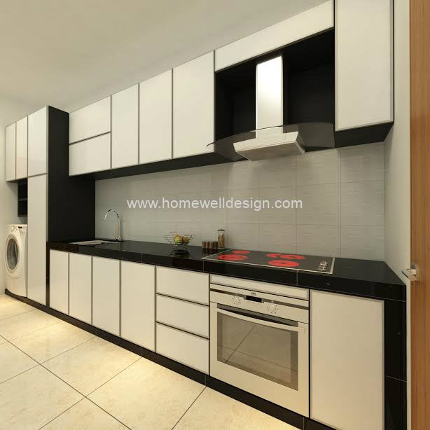 Wet Kitchen Kitchen Cabinet Jb Johor Bahru Renovation Design