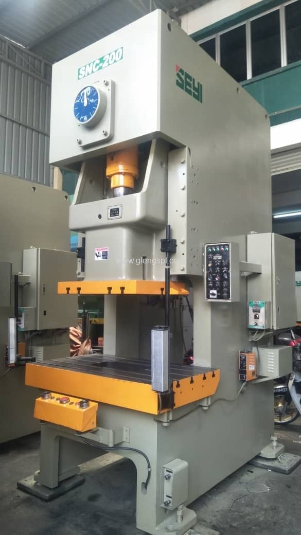 Used SEYI SNC-200 power press
