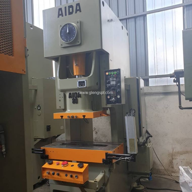 Used AIDA power press 80 ton