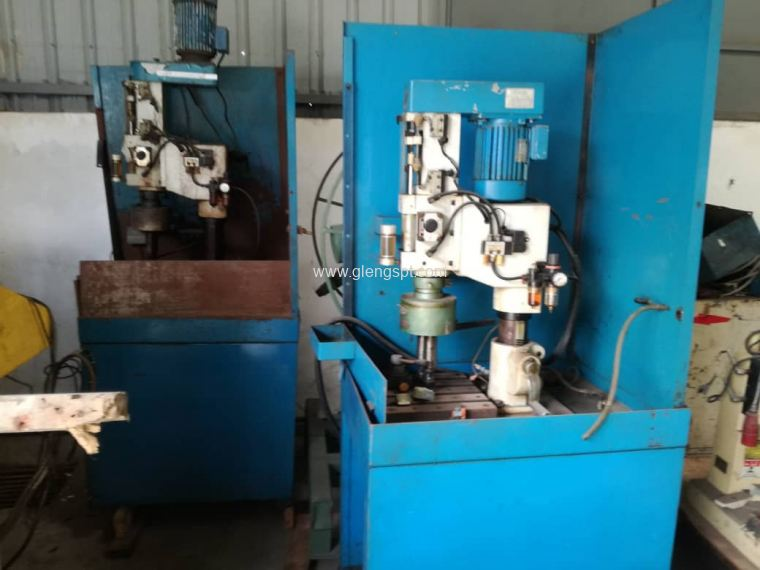 Blue Standing Drilling Machine